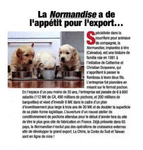 normandise export